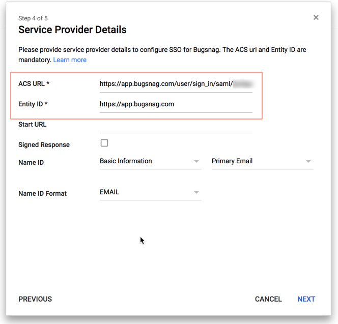 Bugsnag Docs Product Single Signon Google Cloud Identity - Google docs sign in